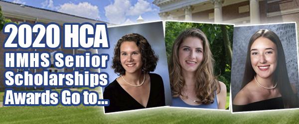 HCA Scholarship Award Winners